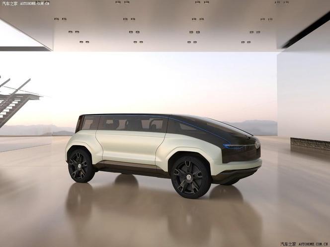 Salon de Shanghai 2013 - Volkswagen 4Fun concept