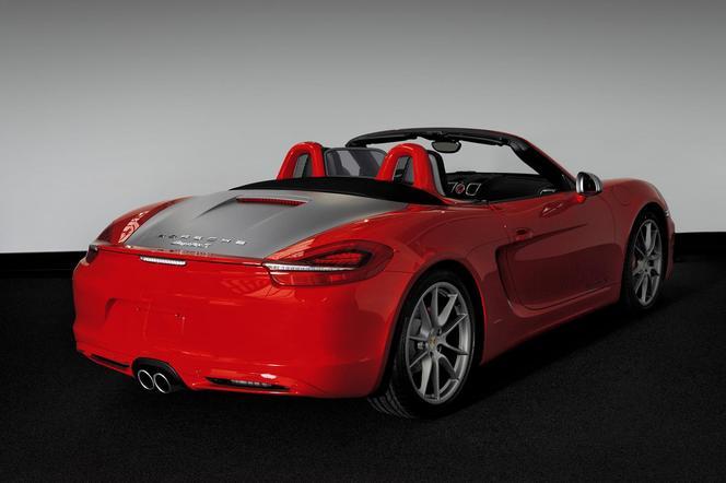 Porsche Boxster S Red 7 Edition: presque 120000 euros...