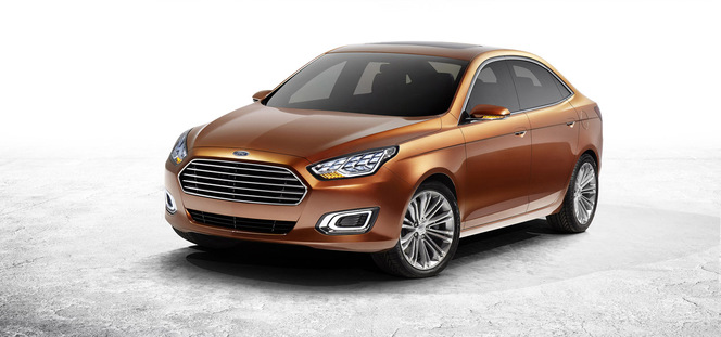"""Salon de Shanghai 2013 - Ford Escort: """"le retour chinois"""""""
