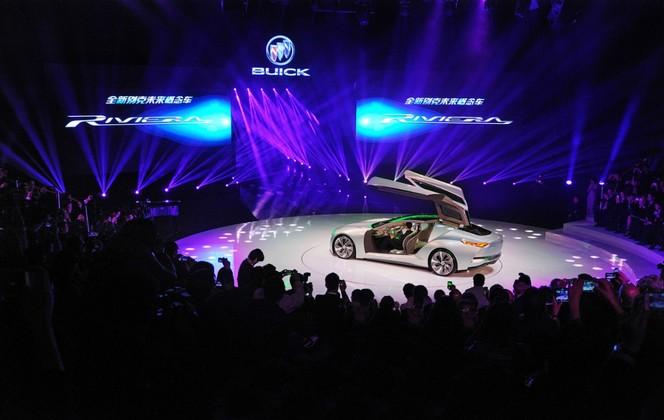Salon de Shanghai 2013 - Buick Riviera Concept