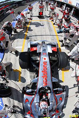 Formule 1 - McLaren: La moustache du brochet oui, l'aileron de requin non