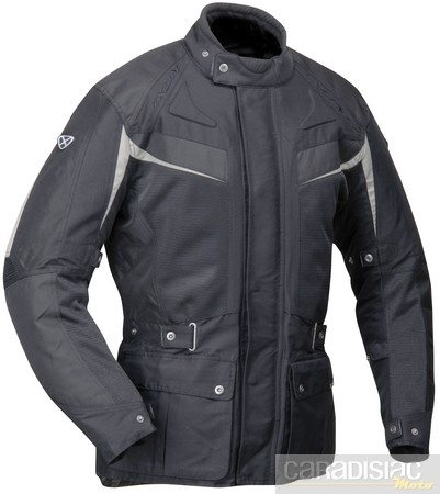 "Look ""raid adventure"" pour la veste Ixon Canyon."