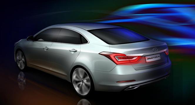 Salon de Shanghai 2013 - Hyundai Mistra concept