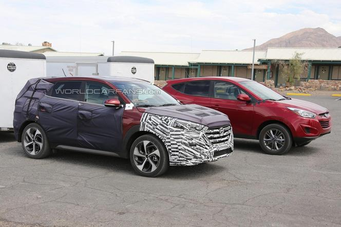Surprise : le futur Hyundai ix35 en montre plus