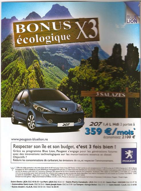 """Prix Pinocchio : Peugeot nominé dans la catégorie """"Greenwashing"""""""