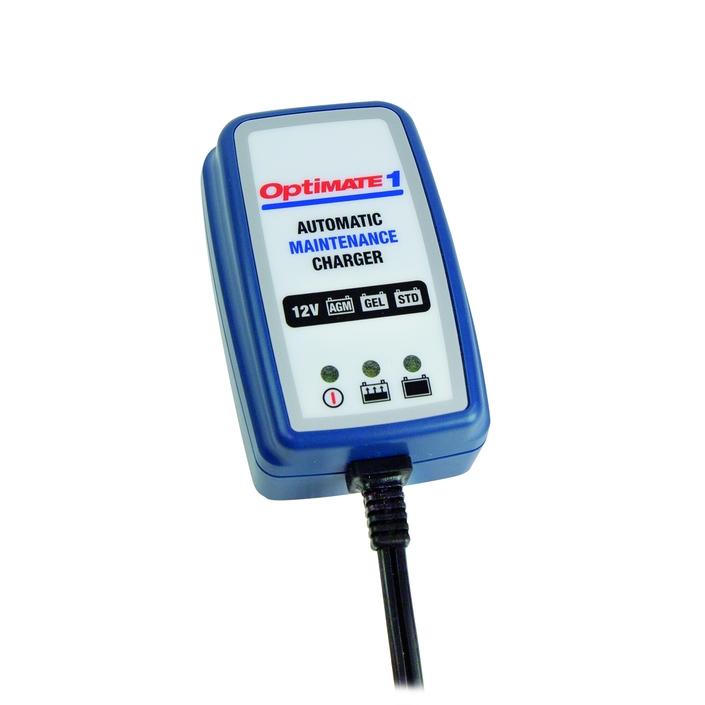 Chargeur batterie Optimate 1: petit et économique