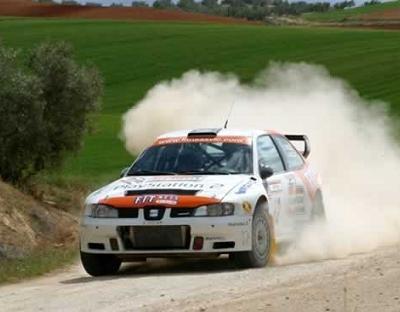 Alex Criville, pilote de Rallye