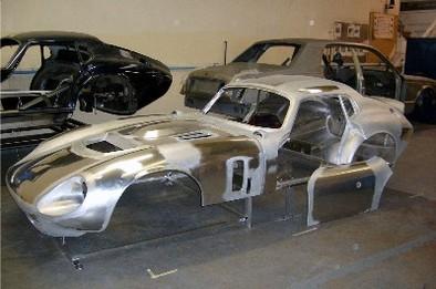 Shelby Distribution: une Daytona à l'aluminium éclatant