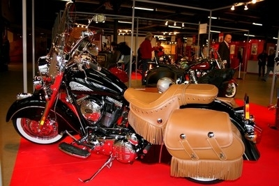 Salon Moto Légende : la gamme Indian Motorcycles.
