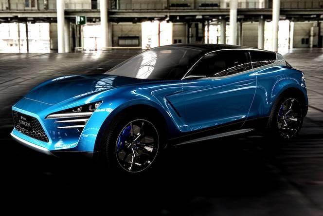 Tokyo Auto Salon 2016 : Toyota montre partiellement le ViRA Concept