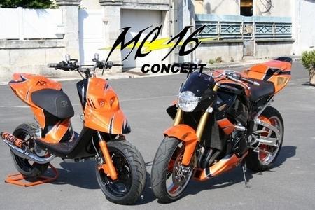 Yamaha YZF R1 Aoranged by MC16 Concept : Moitié R1, moitié CBR 1000RR…
