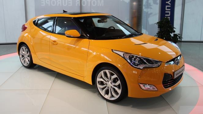 Hyundai Veloster : la présentation vidéo en avant-première. Sympathique...