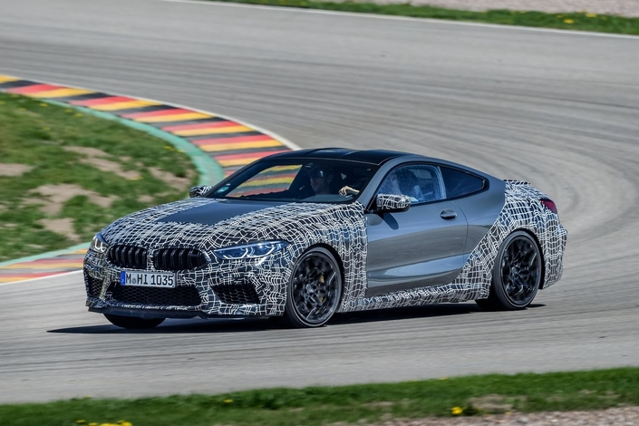 BMW M8: un système de freinage paramétrable