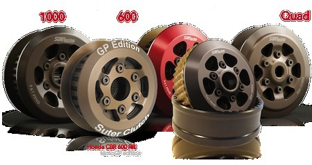 Promo: - 50 euros sur l'achat d'un embrayage anti-dribbling Suter Racing