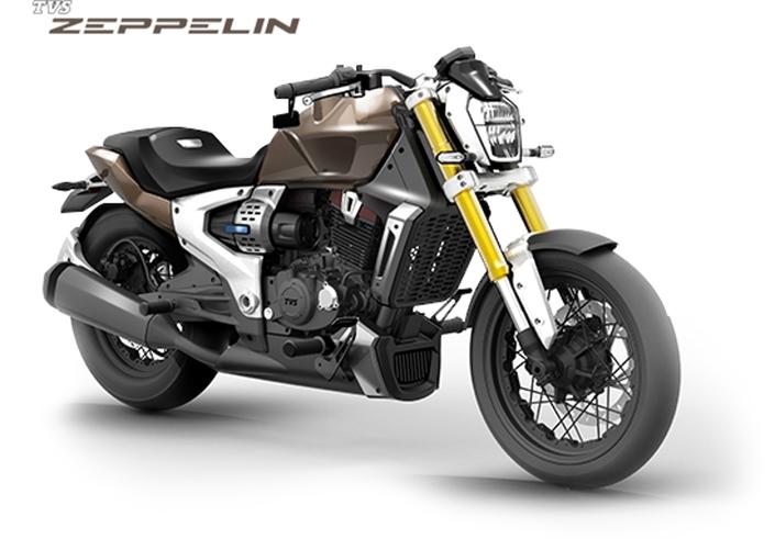 Concept - TVS: l'allié indien de BMW propose un cruiser hybride!