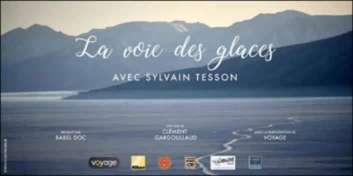 """Projection : """"La voie des glaces"""" de Sylvain Tesson demain 15 février à Levallois-Perret"""