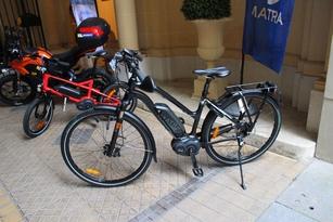 Enfin, le vélo Matra.