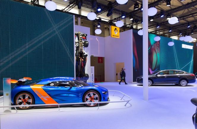 Salon de Shanghai 2013 - L'Alpine A110-50 exposée sur le stand Renault
