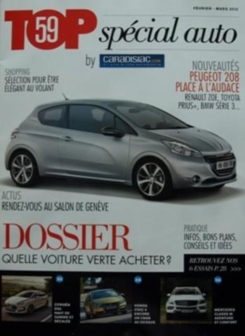 Découvrez Top by Caradisiac, le magazine pour tout connaître de l'actu auto