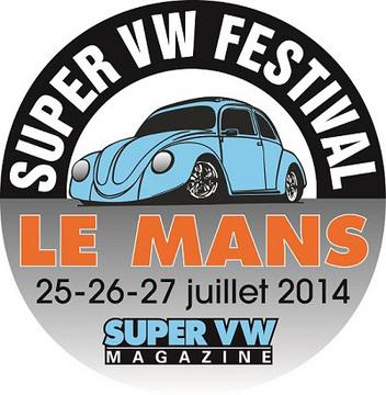 Rendez-vous avec le Super VW Festival au Mans, les 25, 26 et 27 juillet