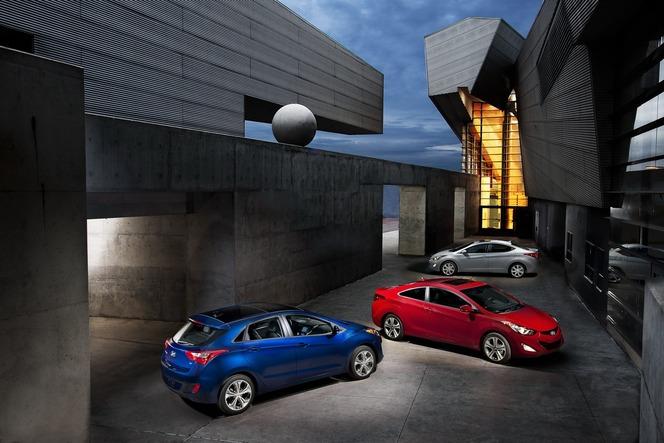 Chicago 2012 : Hyundai Elantra GT et Coupé