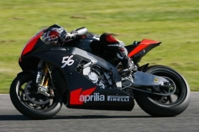 Superbike - Aprilia: Nakano débute à Valence