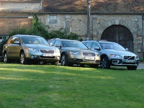 Audi Allroad/Subaru Outback/ Volvo XC70 : avis aux gentlemen farmers
