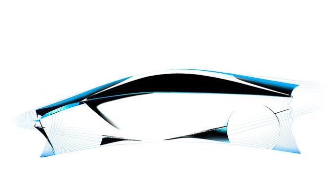 Salon de Genève 2012 : première image du concept Toyota FT-Bh