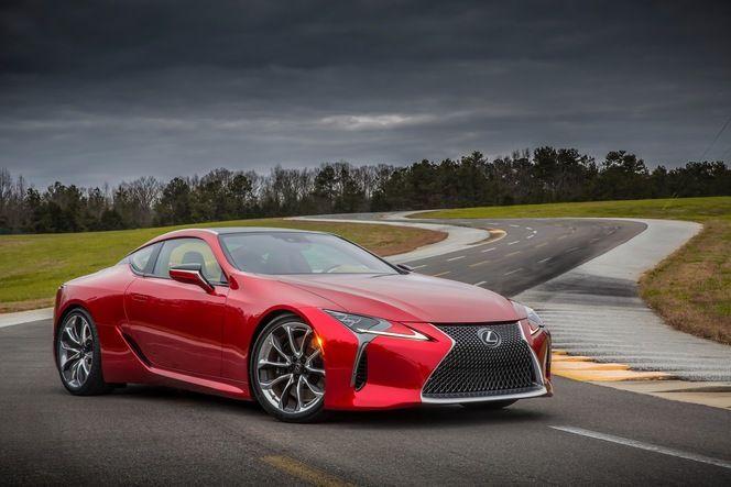 Salon de Detroit : Lexus dévoile la LC 500