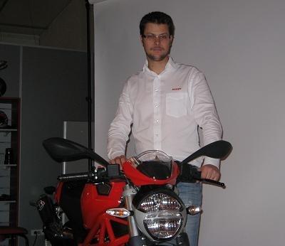 """Acteur majeur - Edouard Lotthé, Responsable Marketing Ducati France: """"Le contexte français est frustrant"""""""
