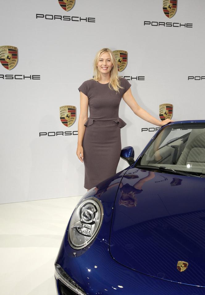 Maria Sharapova roule pour Porsche