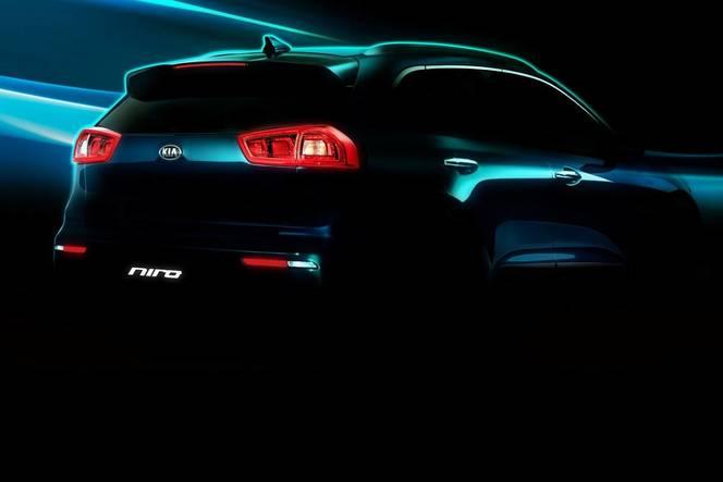 Salon de Chicago 2016 : Kia annonce son premier crossover compact hybride Niro