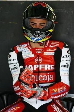 GP250 - Aprilia: Mike Di Meglio a tourné à Valence