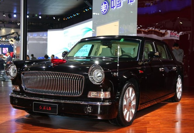 Shanghai 2013 : Hongqi L9, L7 et maintenant L5