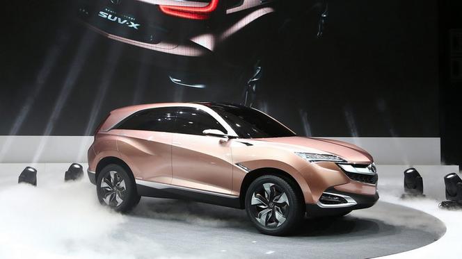 Shanghai 2013 : Acura SUV-X Concept