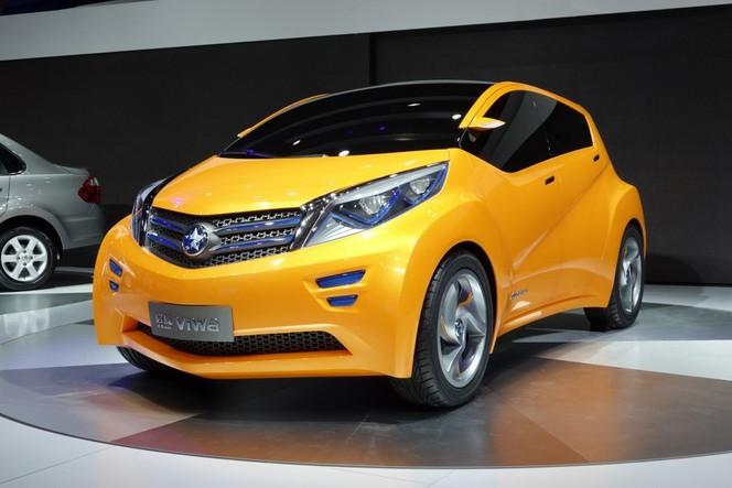 Shanghai 2013 : Venucia Viwa Concept, une électrique d'origine Nissan
