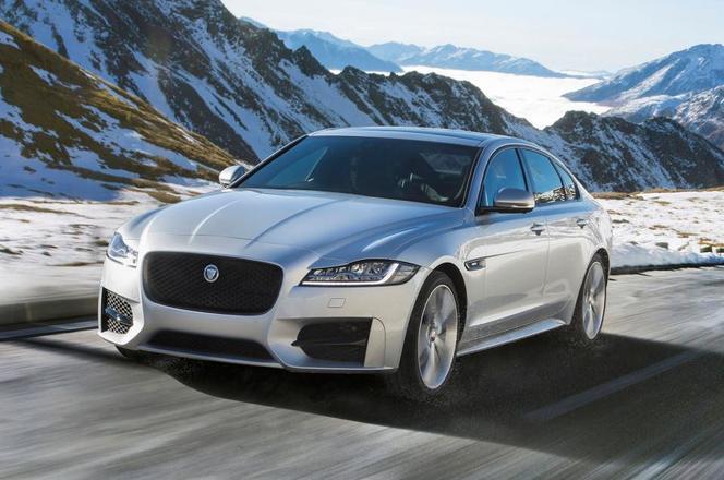 Jaguar XF : en quatre roues motrices dès 2017