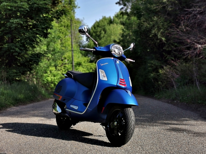 Essai Pïaggio Vespa GTS 300 SuperSport