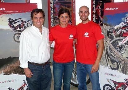 Laia Sanz est  pilote officiel Gas Gas