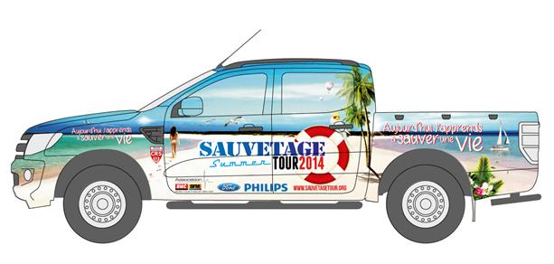 Ford partenaire de la 6e édition du Sauvetage Tour