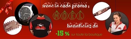 Idée cadeau : 15% sur la boutique de Louis Rossi