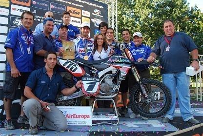 Mondial MX 3 en Suisse : Carlos Campano Champion et Bill vainqueur des deux manches à domicile