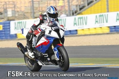 SBK France au Mans : Double victoire de Sébastien Gimbert