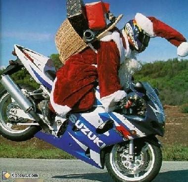 Le père Noël à la bourre