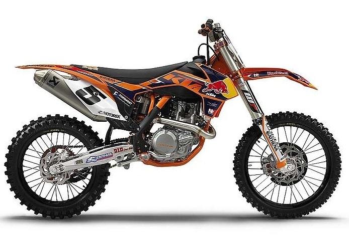 Nouveauté 2013 : une KTM 450 SX-F factory Ryan Dungey replica