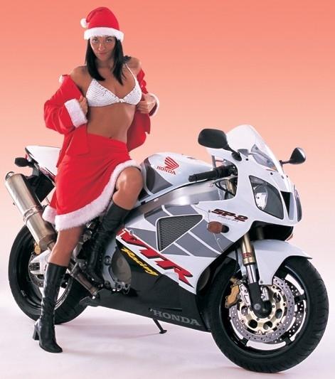 Moto & Sexy : Vive Noël