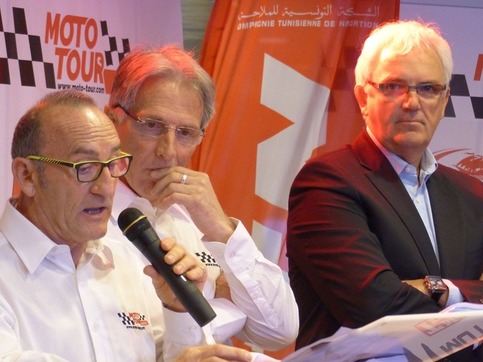 Présentation du Moto Tour Series Tunisie en direct de Tunis
