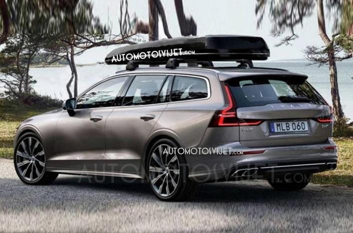 Surprise : la nouvelle Volvo V60 en fuite