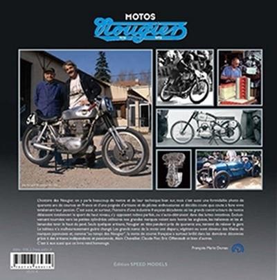 Motos Nougier: le livre complété et réédité quelques mois seulement après sa première parution.