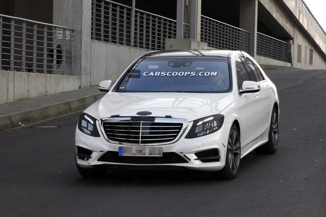 Surprise : la Mercedes Classe S de plus près